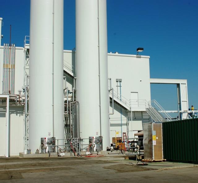 Storage towers